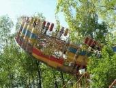 Аттракцион Колесо ужаса Сюрприз. Экстримальные аттракционы. www.attractions.ru